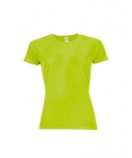 Camiseta técnica naranjae fluorescente