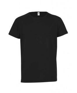 Camiseta técnica negra