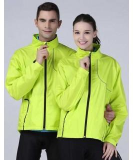 Chaqueta training unisex lima fluorescente