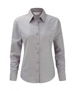 Camisa oxford gris