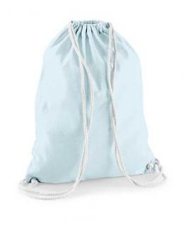 Bolsa / Mochila algodón azul pastel