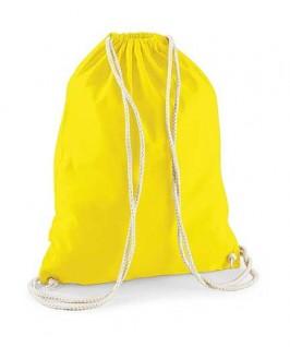 Bolsa / Mochila algodón amarilla