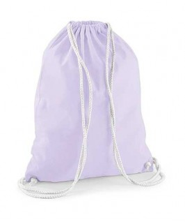 Bolsa / Mochila algodón lila lavanda