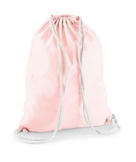 Bolsa / Mochila algodón rosa suave