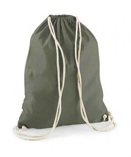 Bolsa / Mochila algodón verde aceituna