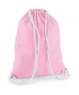 Bolsa / Mochila algodón rosa