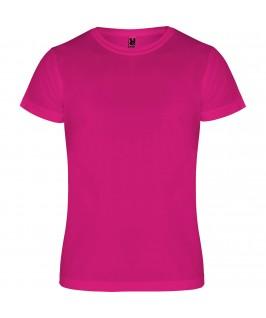 Camiseta deportiva camimera fucsia