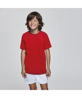 Camiseta técnica Camimera Roly niño niña roja
