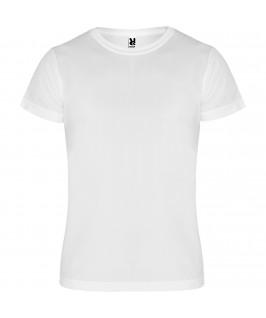 Camiseta técnica Camimera Roly niño niña blanca
