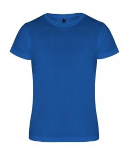 Camiseta técnica Camimera Roly niño niña azul eléctrico