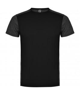 Camiseta técnica de manga corta Zolder de Roly Negra