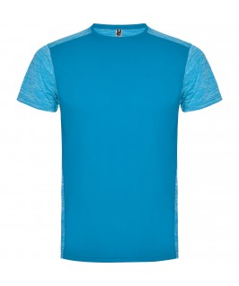 Camiseta técnica de manga corta Zolder de Roly Azul