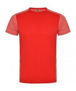 Camiseta técnica de manga corta Zolder de Roly roja