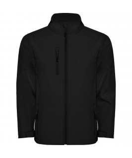 Chaqueta Softshell color negro