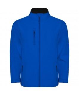 Chaqueta Softshell color azul eléctrico