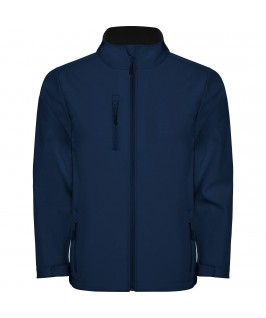 Chaqueta Softshell color azul marino