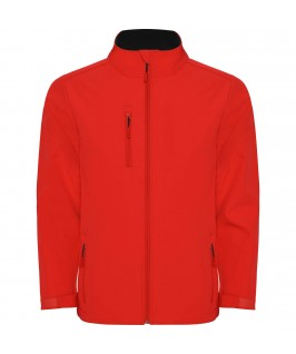 Chaqueta Softshell color rojo