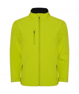 Chaqueta Softshell color lima