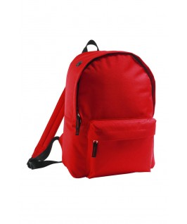 mochila roja