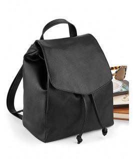 mini mochila estilo cuero