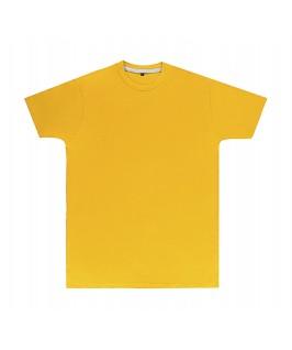 Camiseta color amarillo oro