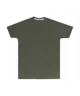 Camiseta color verde militar