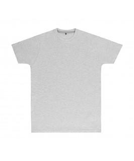 Camiseta color gris jaspeado claro