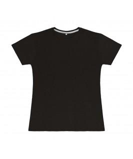 Camiseta color negro