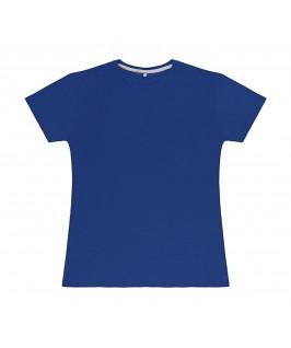 Camiseta color azul eléctrico