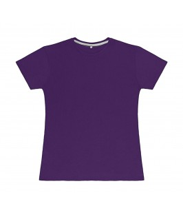 Camiseta color lila