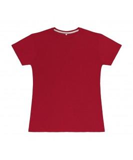 Camiseta color rojo