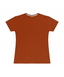 Camiseta color teja