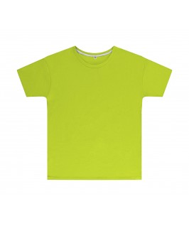 Camiseta color lima