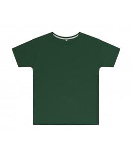 Camiseta color verde botella