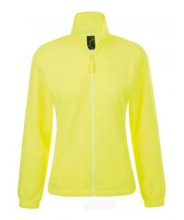 Chaqueta Polar Mujer North de Sol's amarillo fluorescente