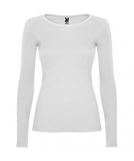 Camiseta Manga Larga Mujer Extreme de Roly blanca