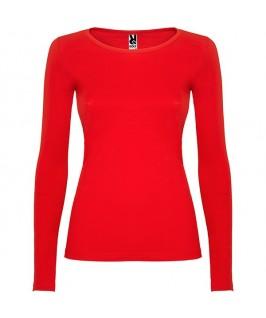 Camiseta Manga Larga Mujer Extreme de Roly roja