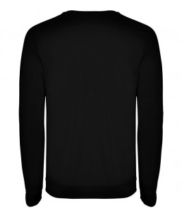 Sudadera cuello redondo Unisex Annapurna de Roly negra
