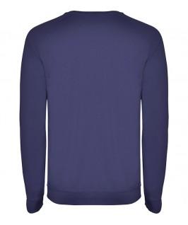 Sudadera cuello redondo Unisex Annapurna de Roly azul tejano