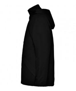 Chaqueta impermeable negra
