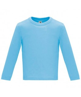 Camiseta azul cielo