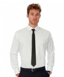 Camisa Manga Larga Hombre Black Tie de B&C