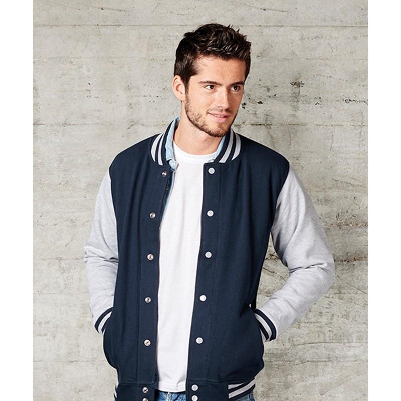 chaqueta universitaria unisex en la sección chaquetas y polares de ... 924d9b3ac09