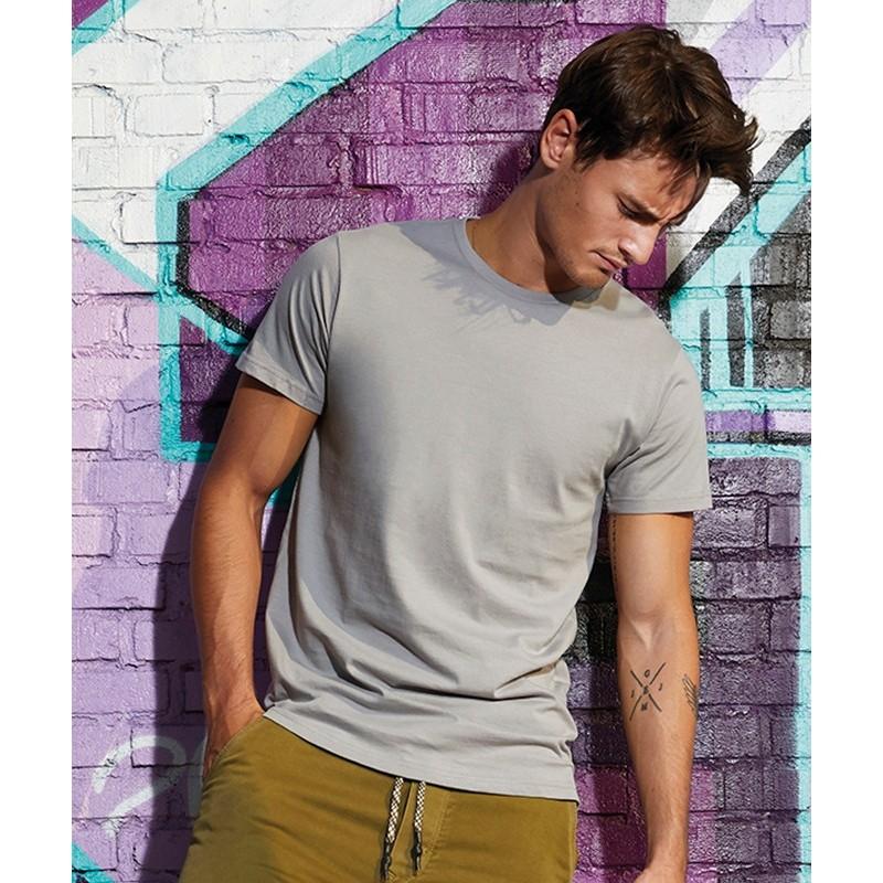 Camiseta orgánica gris claro