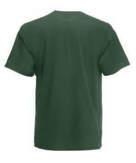 Camiseta verde botella
