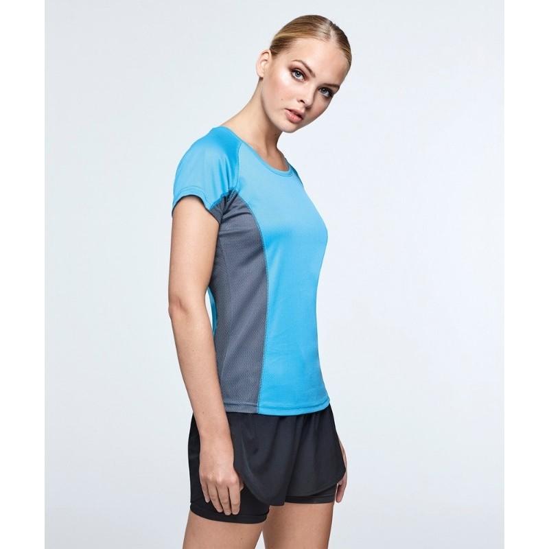 Camiseta técnica manga corta mujer Shanghai Roly