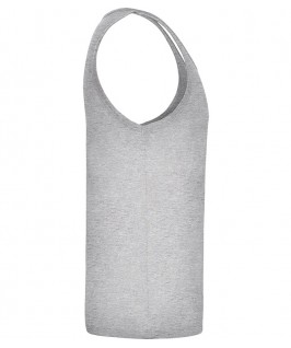 Camiseta Tirantes Niño Texas de Roly parte brazo derecho en color gris jaspeado