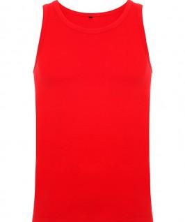 Camiseta Tirantes Niño Texas de Roly en color rojo