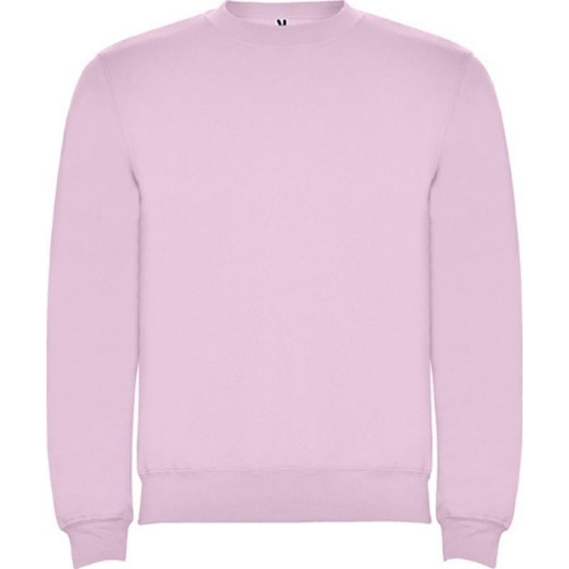 Sudadera rosa suave