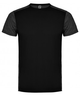 Camiseta técnica en color negro